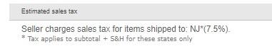 ebay налог