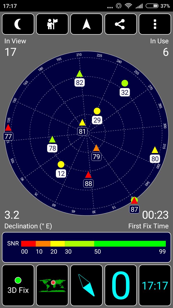 GPS Redmi note 5a