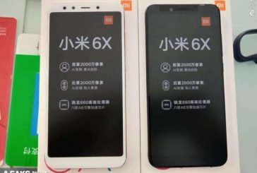За день до официального релиза Xiaomi Mi 6X в сети появились реальные фото и видео