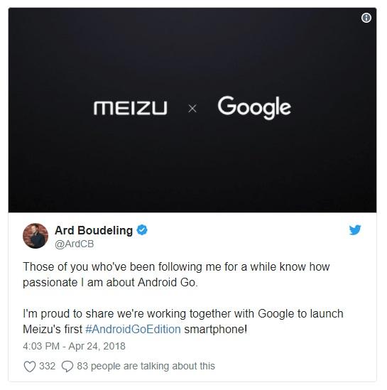 meizu google
