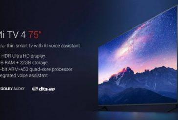 Xiaomi выпустила cамый дешевый 75 дюймовый телевизор