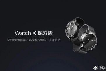 Lenovo анонсировала запуск смарт-часов—  The Watch X