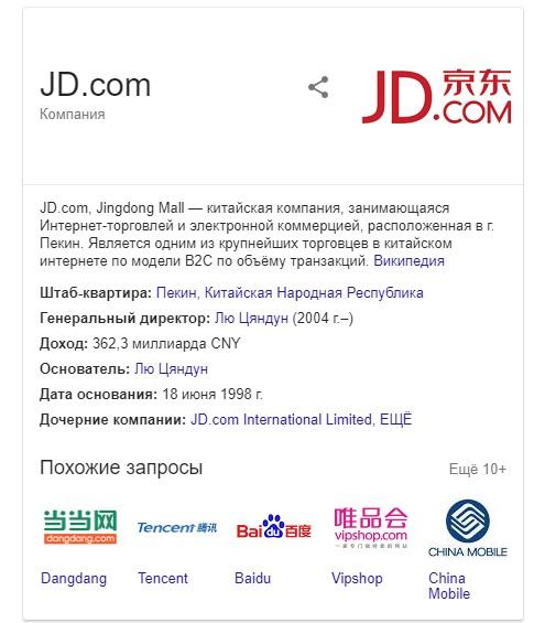 JD corp