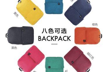 Новые красочные рюкзаки от Xiaomi за 5$