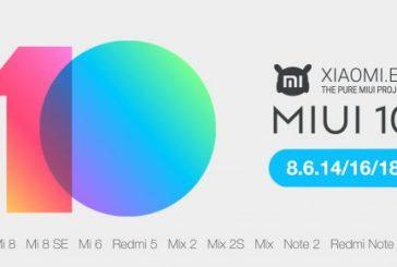 Xiaomi MIUI 10— обновление доступно еще для 21 устройства