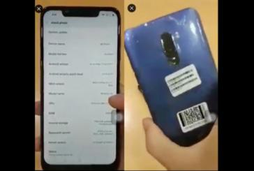 Xiaomi Pocophone F1 засветился в AnTuTu